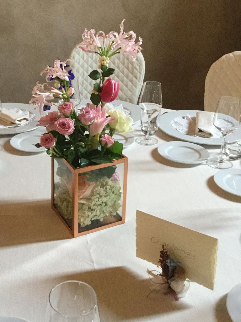 Centrotavola Matrimonio Natalizio : Centrotavola per matrimoni floran scenografie floreali